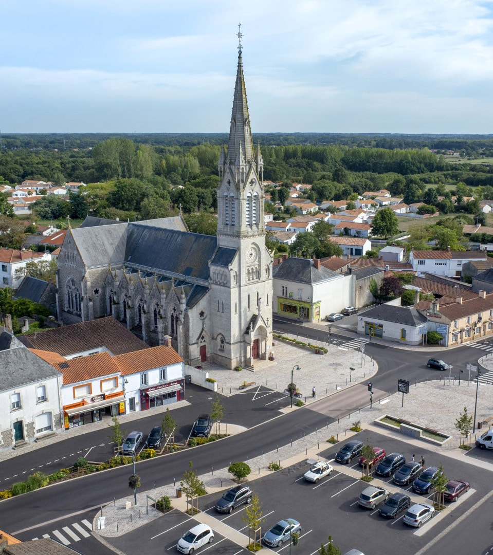 soullans town center Fabien Potel