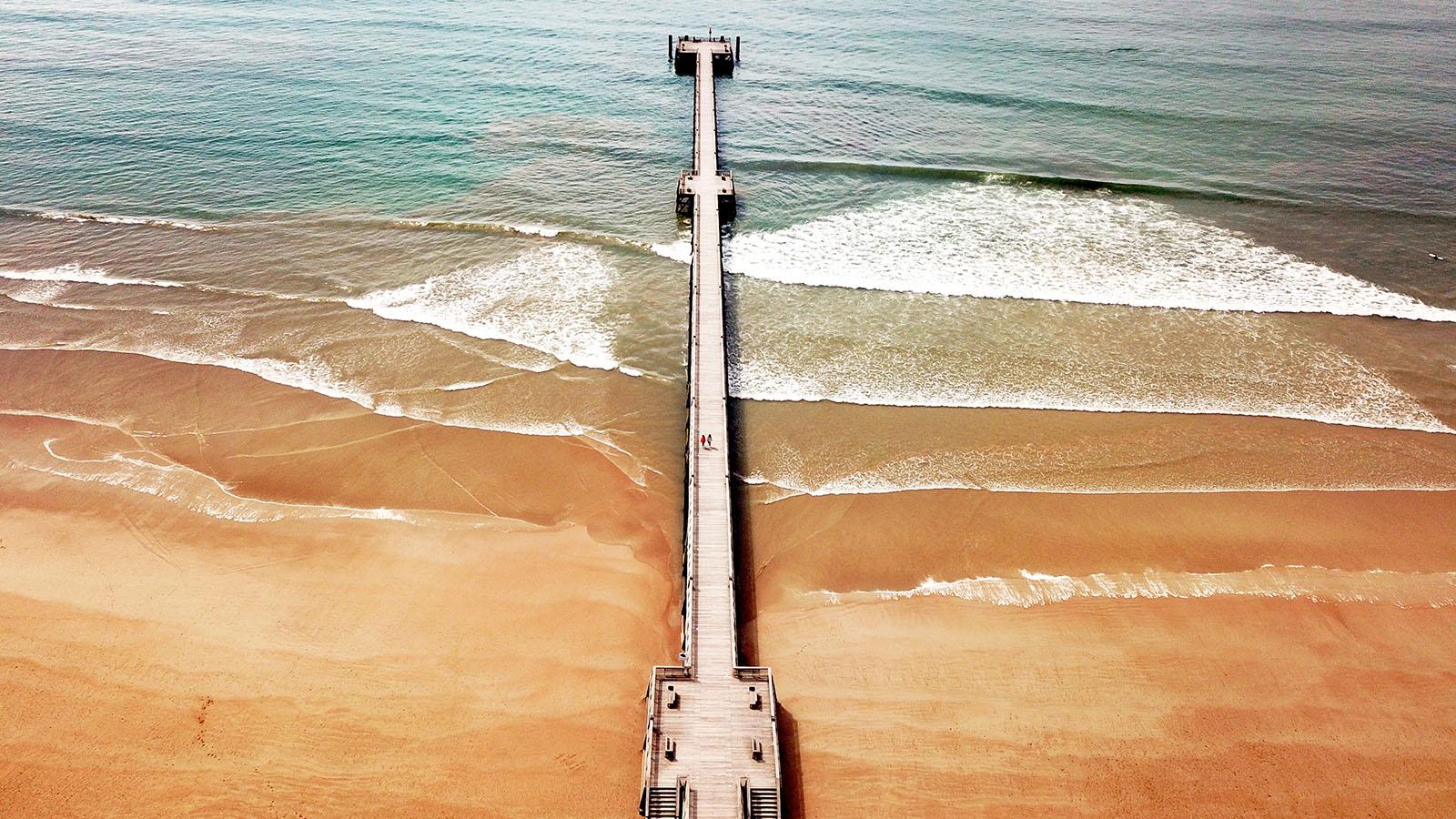 beach estacade-vendee