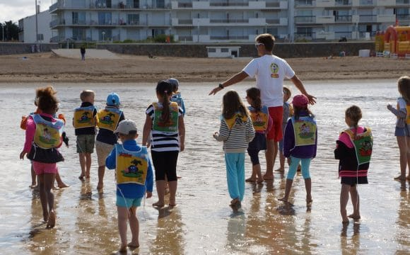 Kids beach club-notredamedemonts-vendee
